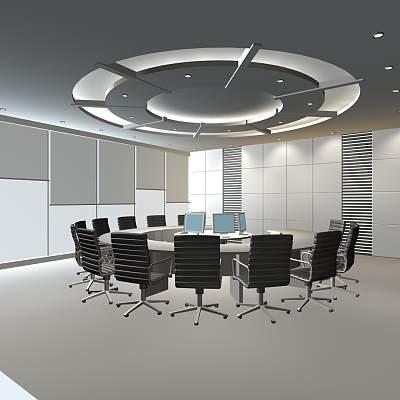 02-中国工商银行会议室
