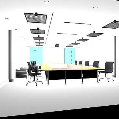 14-宁波东日机械会议室
