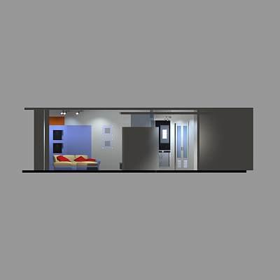 客厅套件模型14
