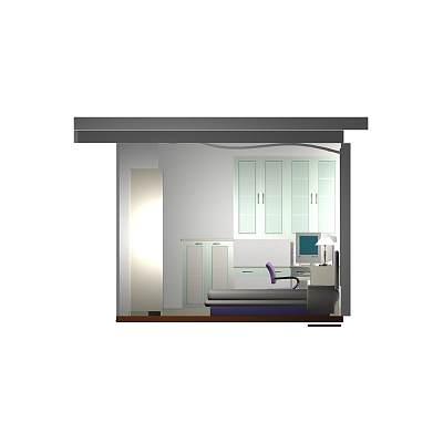 卧室套件模型02