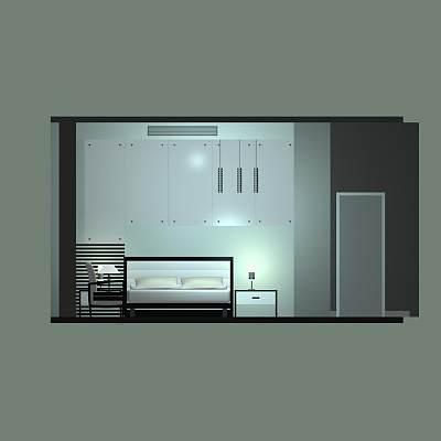 卧室套件模型06