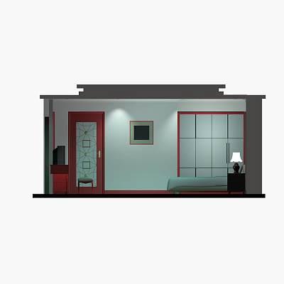 卧室套件模型07