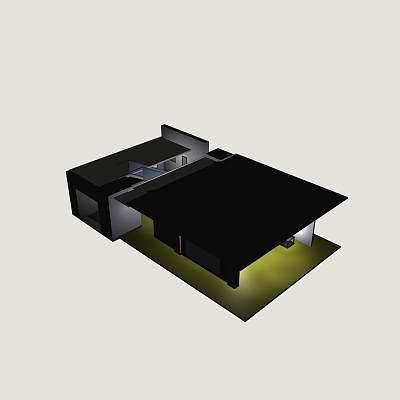 客厅套件模型15