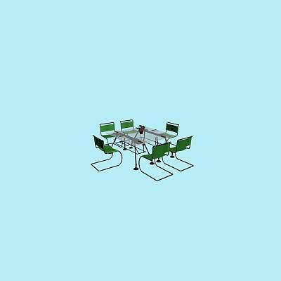 会议桌组合1