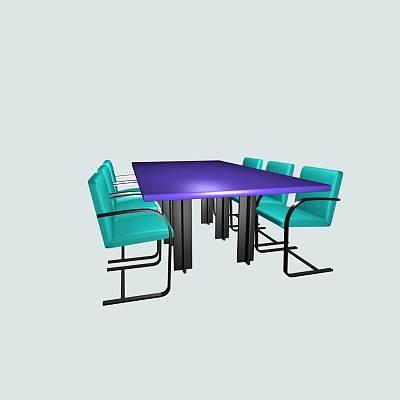 会议桌组合3