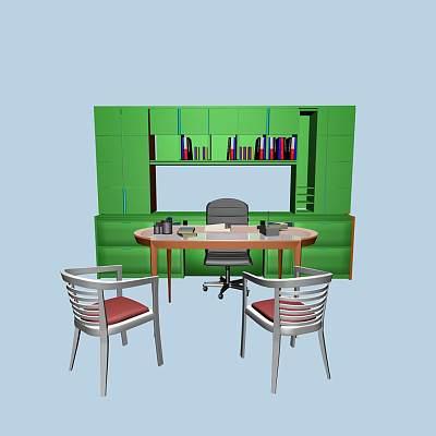 办公桌组合9