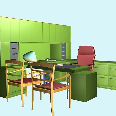 办公桌组合13