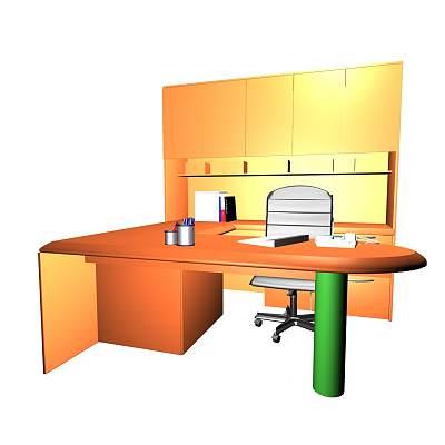 办公桌组合14