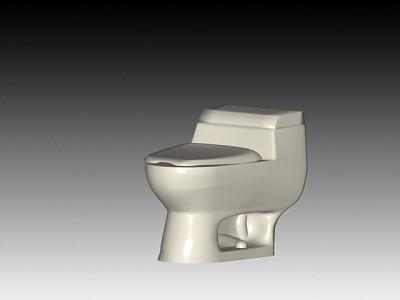 连体座厕09