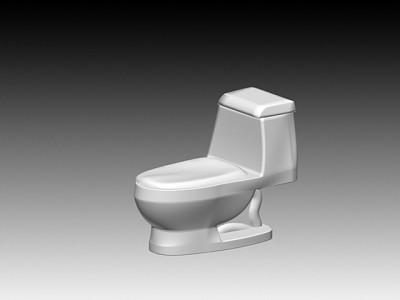 连体座厕11