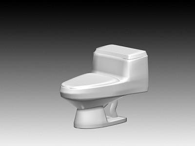 连体座厕12