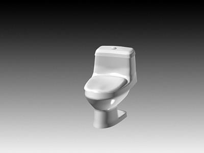 连体座厕15