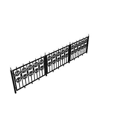 栏杆105