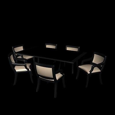 桌椅组合25