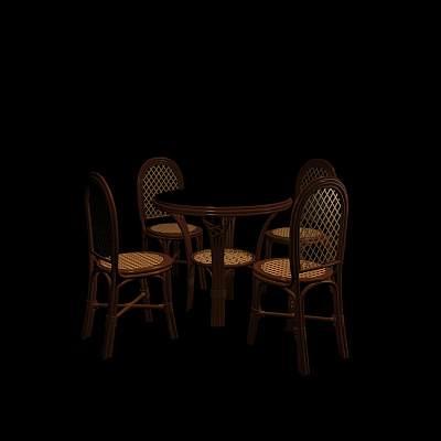 桌椅组合30