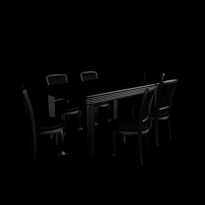 桌椅组合36