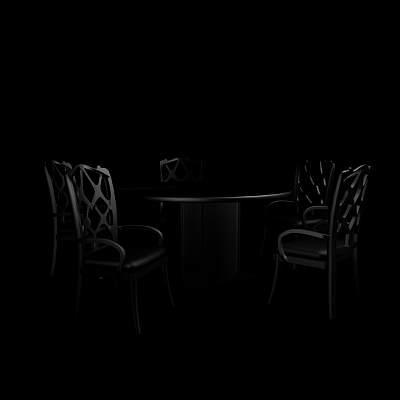 桌椅组合38