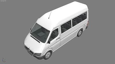 8-奔驰面包车