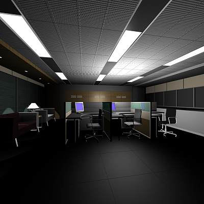 yg-028大空间办公室