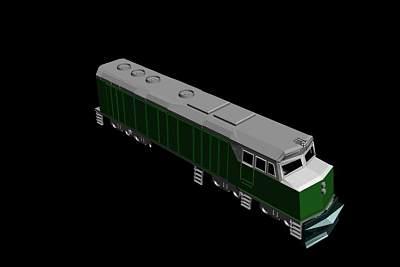火车模型3