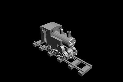 火车模型5