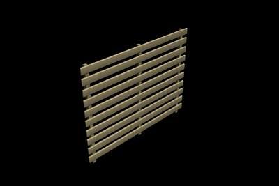 木栏3D模型