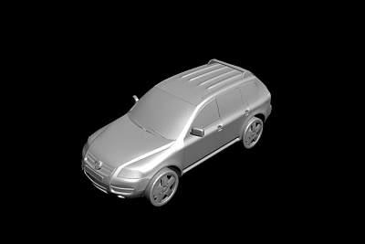 大众SUV3D模型