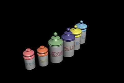 儿童食品3D模型