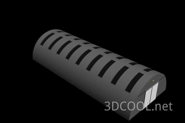 大型温室棚3D模型