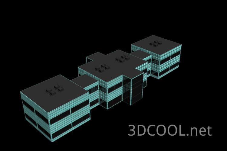 常见的房子3D模型
