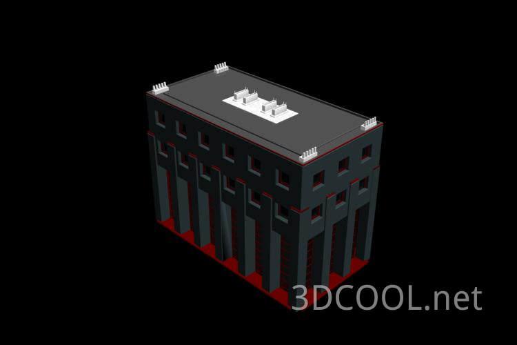 常见的房子3D模型下载