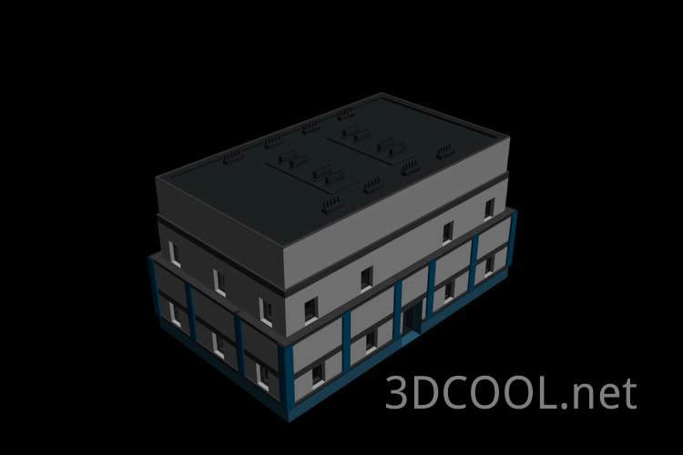 很一般的房子3D模型