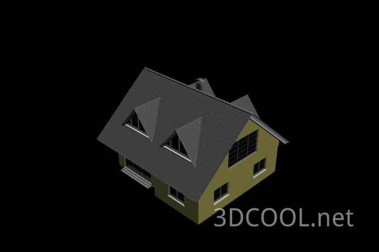 很不错的房子3D模型