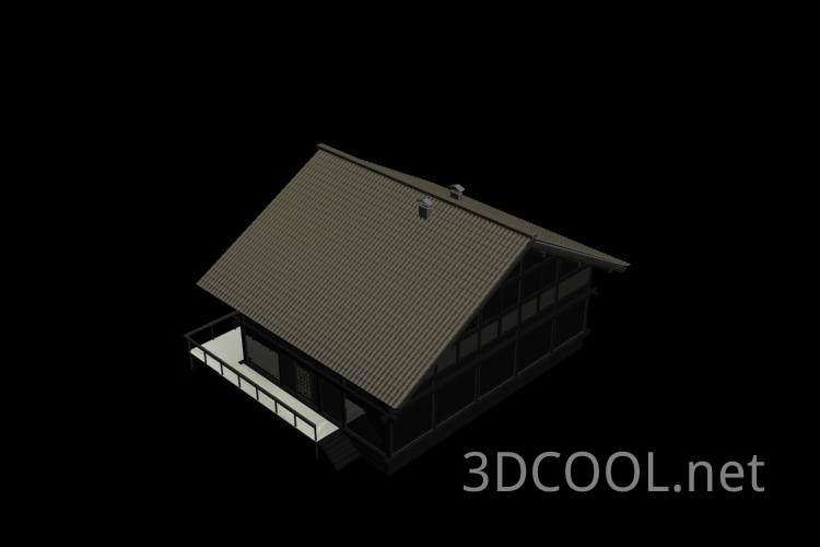 精美的别墅3D模型