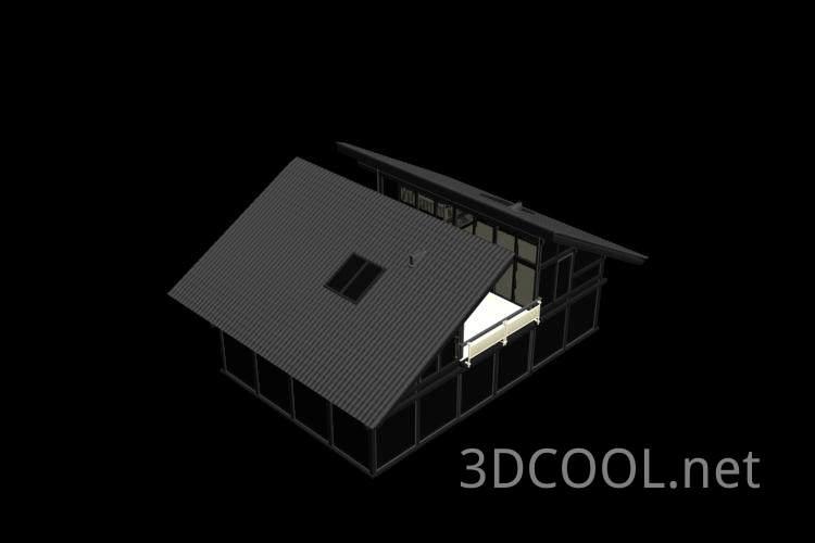 精美的别墅3D模型下载