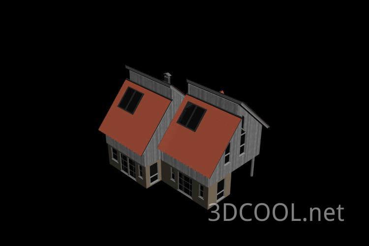 精致的别墅3D模型