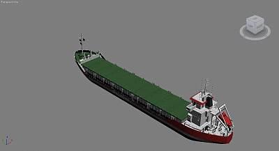 油轮3D模型