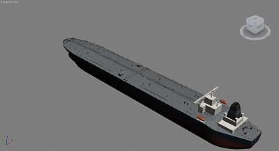油轮3D模型下载