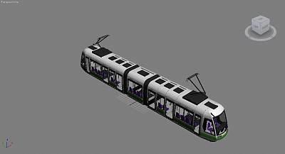 3D地铁模型