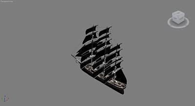 3D帆船模型下载