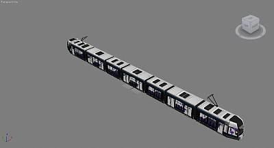 地铁3D模型下载