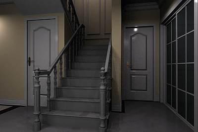 3D模型-很漂亮的楼梯