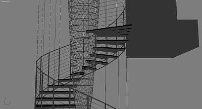 3D模型-最新楼梯