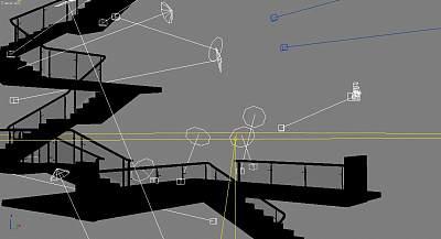 3D模型下载-很好的楼梯