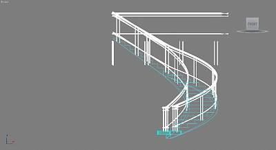 相当高雅的别墅楼梯