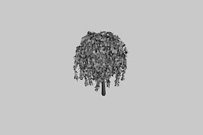 漂亮的3D园艺树模型下载