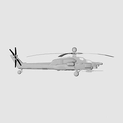 直升机 MI28