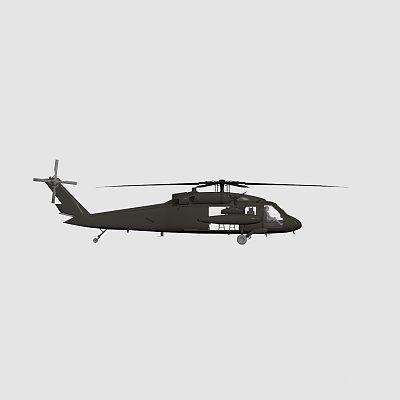 黑鹰直升机 uh-60