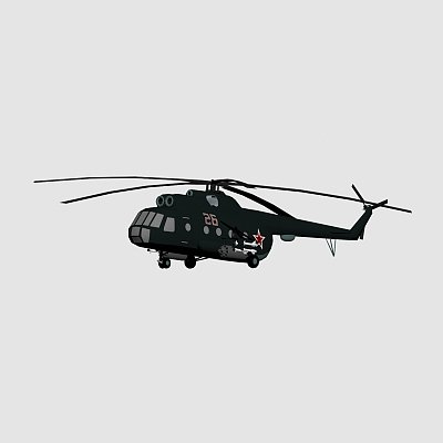 直升机 Mi17
