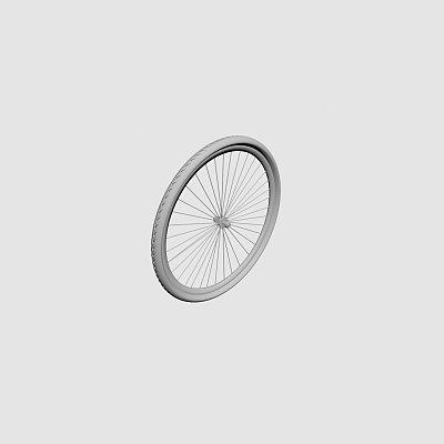 自行车轮子